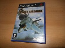 Energy Airforce  - Sony Playstation 2 new sealed  pal version
