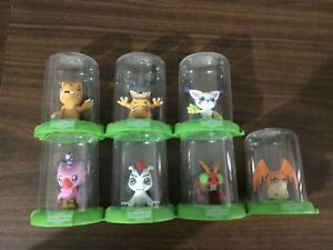 Digimon Domez Collectible Figures, LOT Of 7