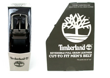 Timberland Men's Reversible Leather Belt Black Brown Size 32-44