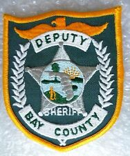 Patch- Bay County Sheriff's Department US Police Patch (NEW*)