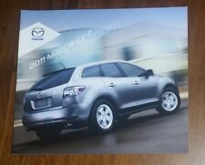 2011 MAZDA CX-7 BROCHURE SUV CROSSOVER TURBO SPORT ZOOM ZOOM