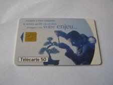 telecarte bonzai france télécom 50u ref phonecote F796