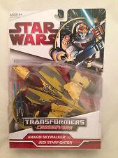 Transformers Star Wars CrossOvers Anakin Skywalker Jedi StarFighter NEW MIB