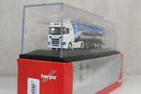 ht673, Herpa 121880 Scania CR HD Silo-Sattelzug Edgar Graß PC 1:87 NEU/NEW
