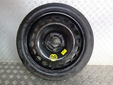 2011 VAUXHALL CORSA D 16'' 5 STUD SPACE SAVER SPARE WHEEL & TYRE ( SOME RUST )