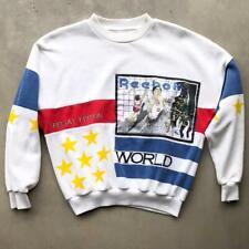 VTG 90s Reebok Sport Special Edition World Record Track Olympics Sweat Shirt M/L