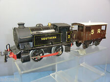 "VINTAGE HORNBY ""0"" MODEL No. ""SR ENGINE & BRAKE VAN""  SET ""CODE 3"""