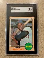 1968 Topps Willie McCovey #290 SGC 3 San Francisco Giants