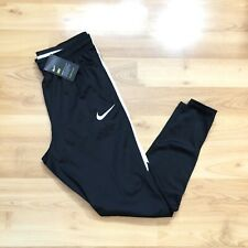 Nike Squad Dry Soccer Training Black Pants Size M Mens Tapered NEW 903686-013