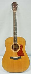 Taylor Acoustic Guitar 110 Sitka Spruce Dreadnought Body with Padded Gig Bag