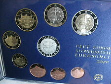 SLOWAKEI 1 CENT - 2 EURO MÜNZEN COIN SET 2009 KMS PP PROOF - EINFÜHRUNG DES EURO
