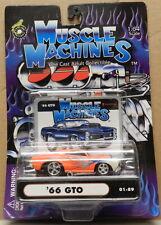 ORANGE HOT ROD PS PONTIAC GTO 1966 66 DRAG RACING SERIES 01 89 MUSCLE MACHINES