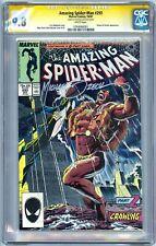 Amazing Spider-Man 293 CGC 9.8 SS ASM 261 CGC 9.6 SS small crack+2 extra SS bks