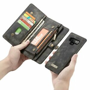 Phone case For Samsung Galaxy S8 9 note 10 Plus 8 9 Luxury Leather Funda Cover