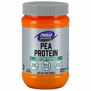 Pea Protein Natural Unflavored 12 oz by Now Foods