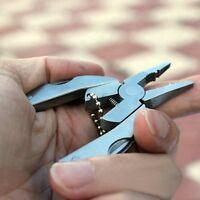 Pocket Multi Function Tool Set Mini Foldaway Keychain Pliers Knife Screwdriver