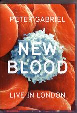 DVD (NEU!) . PETER GABRIEL - New Blood (Live in London mkmbh