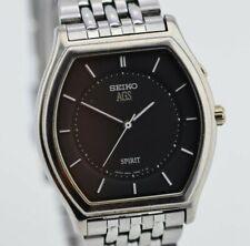 H831 Vintage Seiko AGS Spirt Kinetic Watch Needs Repair 3M21-0A60 JDM Japan 50.3