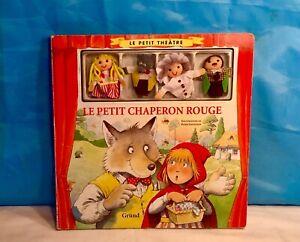 Le PETIT THÉÂTRE :Le PETIT CHAPERON ROUGE Illustrations Peter STEVENSON Ed.GRUND