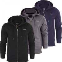 Firetrap Original Mens Designer Full Zip Thru Hoodie Hooded Sweatshirt Jacket