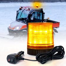 Amber Led Strobe Beacon Light Rooftop Flash Emergency Warning Forklift Snow Plow