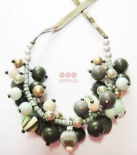 Modeschmuck-Halsketten aus Perlen