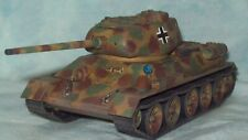 Bolt Action Warlord Games 1/56 Captured/Beutepanzer T-34/85 PLASTIC PAINTED
