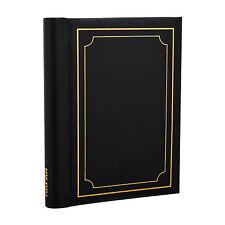 Large Black Spiral Bound Self Adhesive Photo Albums 72 Sides - SM72BK
