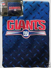 3 New York Giants blankets bedding 60x80 Plush thick FREE SHIPPING