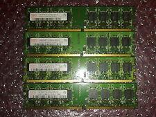 4x1gb = 4gb KIT ddr2/pc2-5300 667 MHz/Non-ECC RAM Memoria/240 marca casuale