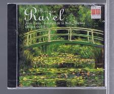 RAVEL CD NEW JEUX D'EAU/ GASPARD DE LA NUIT/ MIROIRS/ CECILE OUSSET