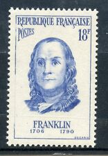 STAMP / TIMBRE FRANCE NEUF N° 1085 * / BENJAMIN FRANKLIN / NEUF CHARNIERE
