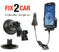Samsung Galaxy S4 - Charging Phone Cradle - Suction Mount - KRAM Fix2Car