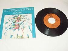 """IL GUARDIANO DEL FARO """"DOMANI/PAJASO"""" 7"""" CETRA Ita 1977"""