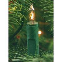 Mini Lichterkette klar 10 20 35 50 100 Lichter mit klassischen Birnchen warmweiß