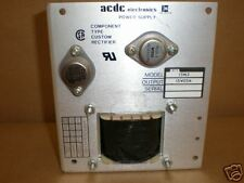 EMERSON ACDC ELECTRONICS POWER SUPPLY MODEL 15N3
