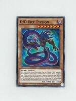 1st Edition Yu-Gi-Oh COTD-EN017 Common x3 D//D Vice Typhon M//NM