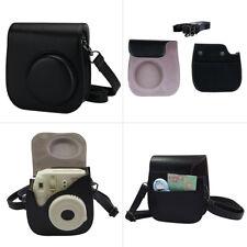 For Fujifilm Instax Mini 8/9 Camera Bags PU Leather Shoulder Strap Case Pouch