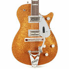 Gretsch G6129T-89 Vintage Select '89 Sparkle Jet with Bigsby - Gold Sparkle for sale