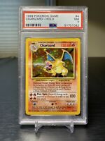 Charizard 4/102 Pokemon Base Set Holo Foil Card WOTC PSA 7 NM NEAR MINT