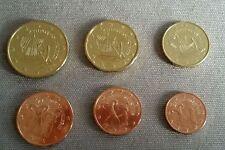 Mini serie 6 valori FDC Cipro 2014 1 cent - 50 cent