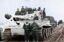 WW2 Picture Photo SS-Unterscharführer Kurt Kleber in his Panzer VI Tiger I 868