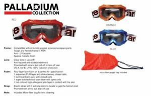 ARIETE Palladium Goggles Winter Snow Goggle with Bag - Red Orange or Blue