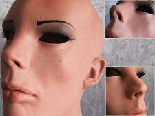 Latexmaske LIV + WIMPERN Real. Frauenmaske Gummi Frau Sexy Trans Crossdresser