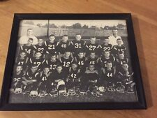 Football Team Vintage Premium Photo Picture Frame OLD Youth Cool Background