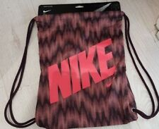 £11 TODAY`S SPECIAL OFFER Nike STRING/Gym bag with a leather look lined bottom.