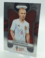 2018 Panini Prizm World Cup Soccer Andres Iniesta Card
