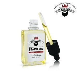 Cherry Amaretto - 30ml Beard Oil | Premium Barber Tonics | ROYAL FUZZ ®