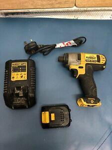 Dewalt DCF815 10.8V XR Li-Ion Impact Driver with battery+ Charger