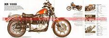 HARLEY DAVIDSON XR 1000 1983 Fiche Moto 000500